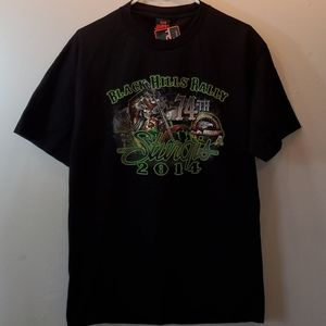 NWT 74th Black Hills Rally Sturgis 2014 t-shirt